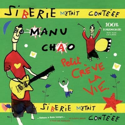 Manu Chao<br>Siberie M'Etait Conteee<br>2LP + CD